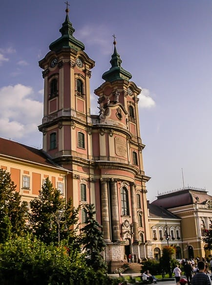 Minorite Church in Eger - Day Trips from Budapest