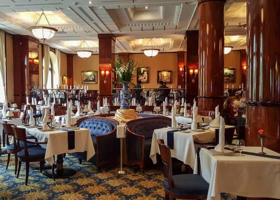 Europe bucket list - Gundel restaurant in Budapest