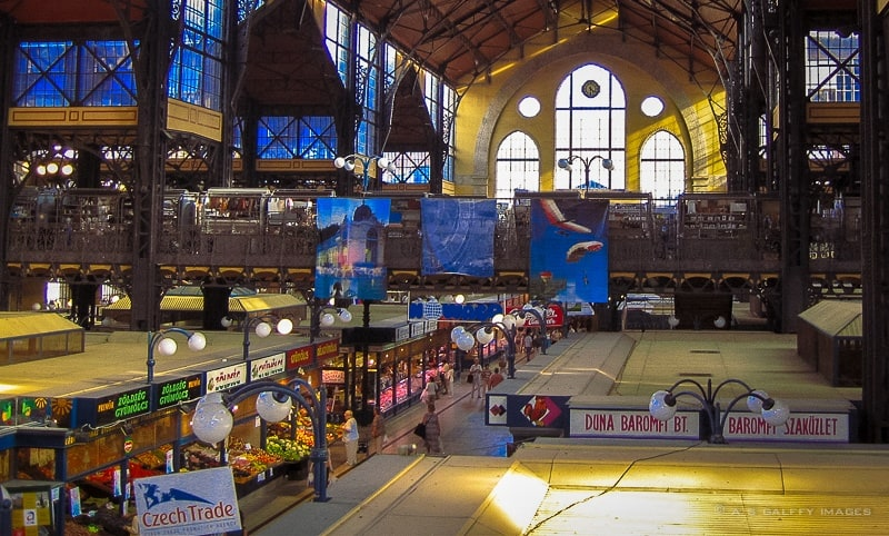 Browsing Through the Budapest Markets – the Great Market Hall