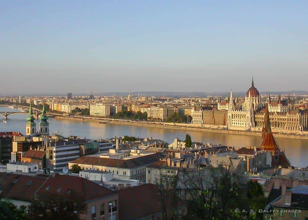 View of Budapest downtown