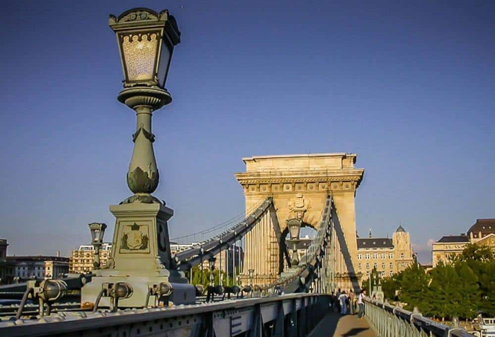 Chain Bridge - 3 days in Budapest itinerary
