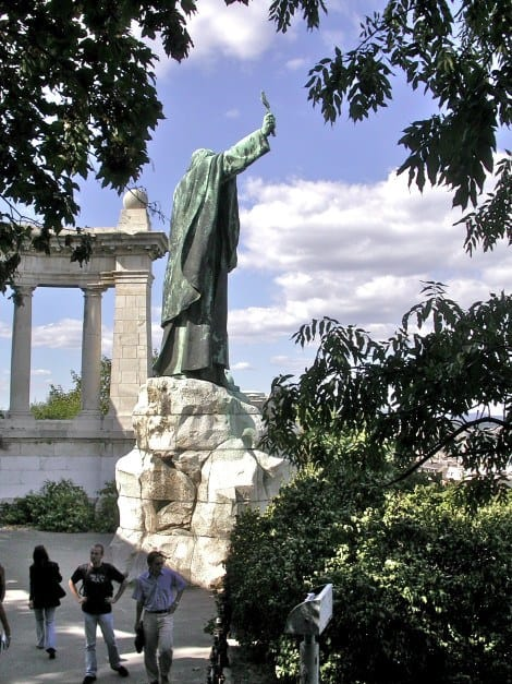 Gellért Monument, one of Budapest Old Town Attractions