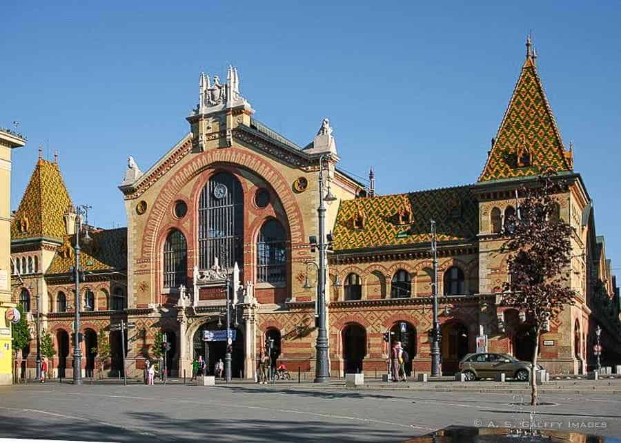 Budapest Great Market Hall - 3 days in Budapest itinerary