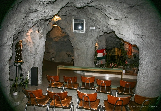 The Cave Church on Gellert Hill