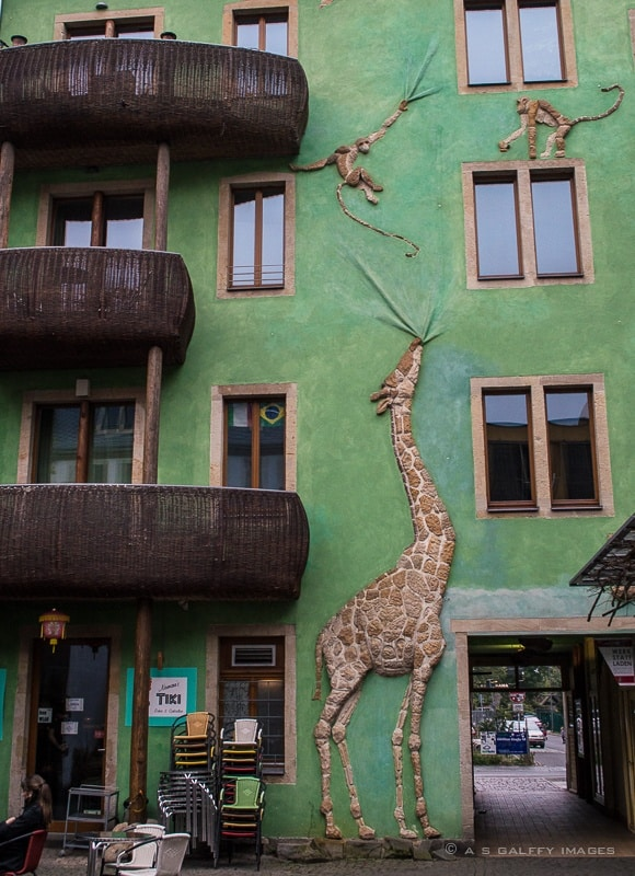 Courtyard of the Animals in Kunsthofpassage