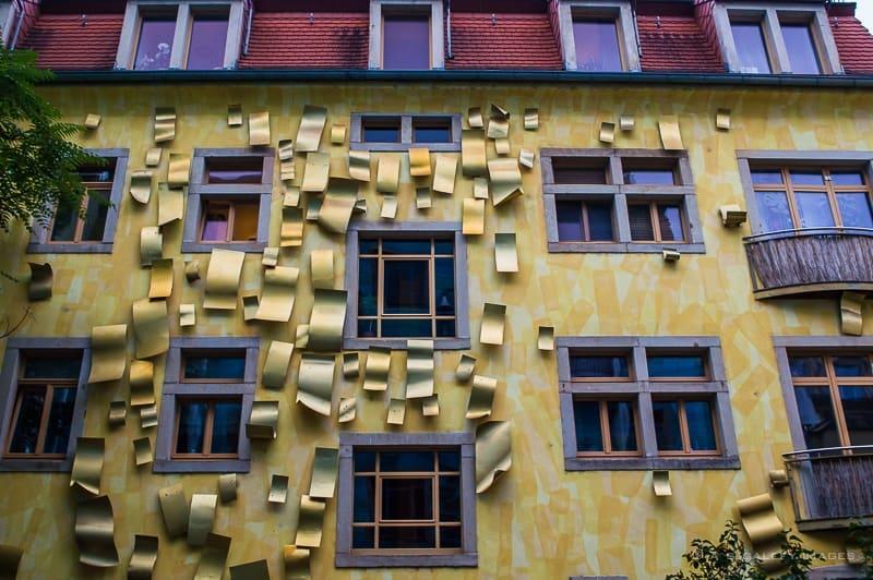 The Singing Drain Pipes of Kunsthofpassage