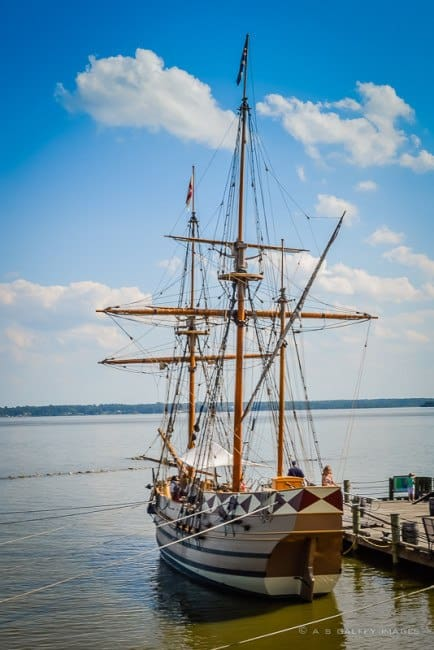 One of the three ships that you can see at the Jamestown Settlement