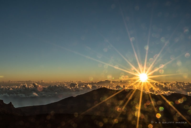 Image depicting the sunrise at Haleakala