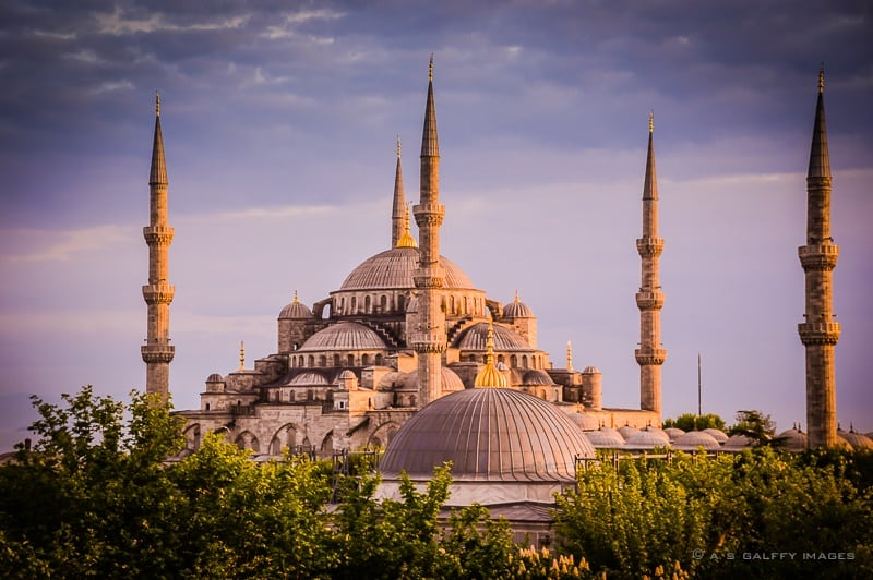 The Weekly Postcard: The Blue Mosque, Istanbul