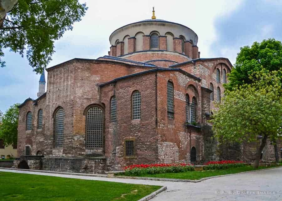 Hagia Irene - Istanbul itinerary
