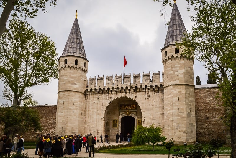 The Imperial Gale of Topkapi Palace