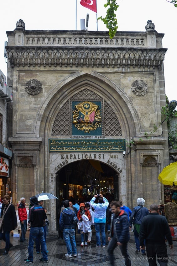 One of the Grand Bazaar's Entrances