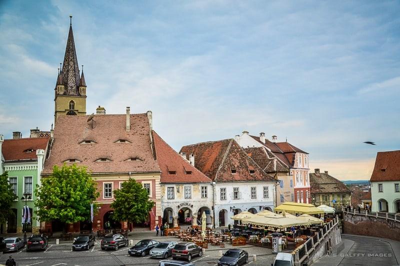 The Small Square of Sibiu