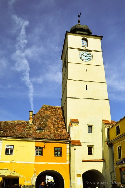 The Council Tower in Sibiu
