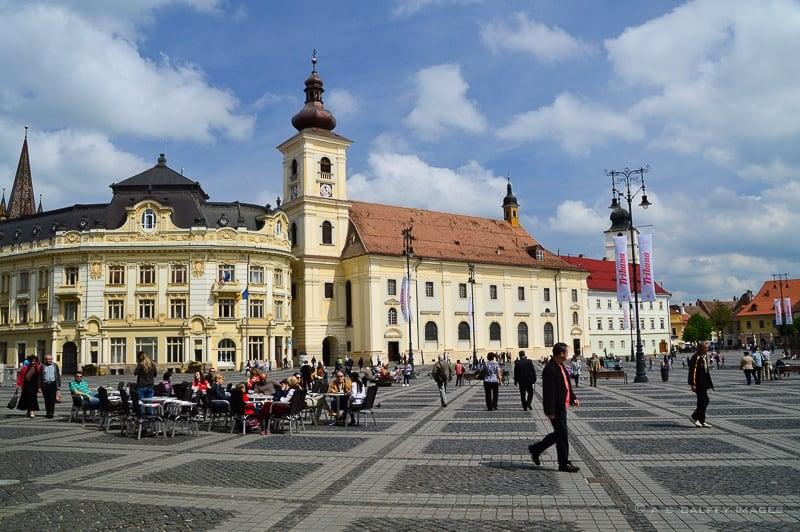 The Large Square of Sibiu (Piata Mare)
