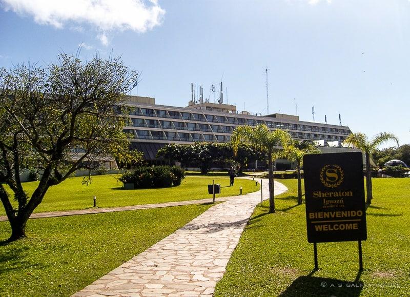 Sheraton hotel the best location for visiting Iguazu Falls