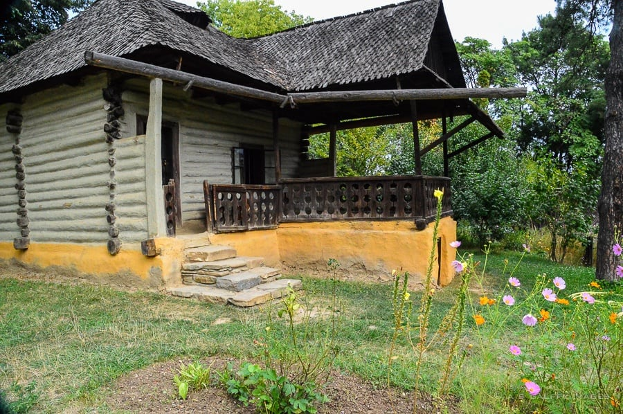 Rural house at Bucharest Village Museum