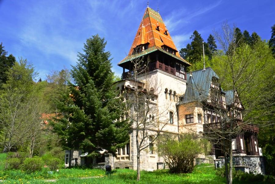 The Weekly Postcard: Pelisor Castle in Sinaia