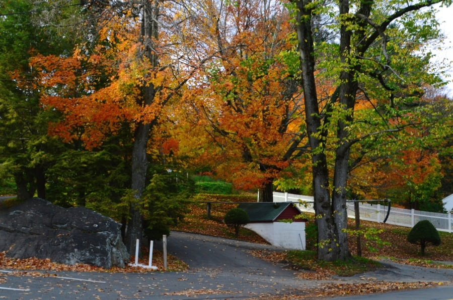 The Weekly Postcard: Autumn in Connecticut