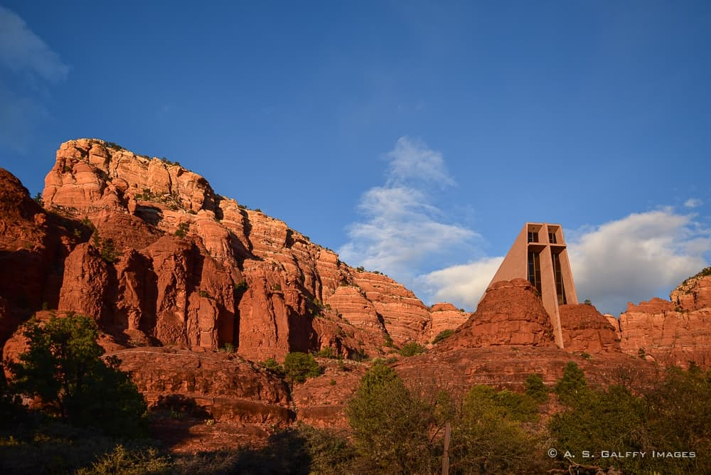 Sedona Attractions: Chapel of the Holly Cross