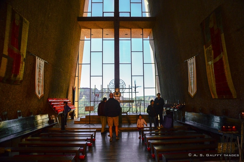 Sedona attractions: Chapel of the Holy Cross