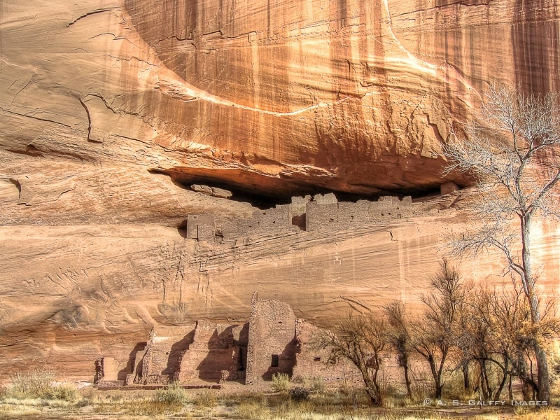 Navajo Tribal Lands: Canyon de Chelly National Monument