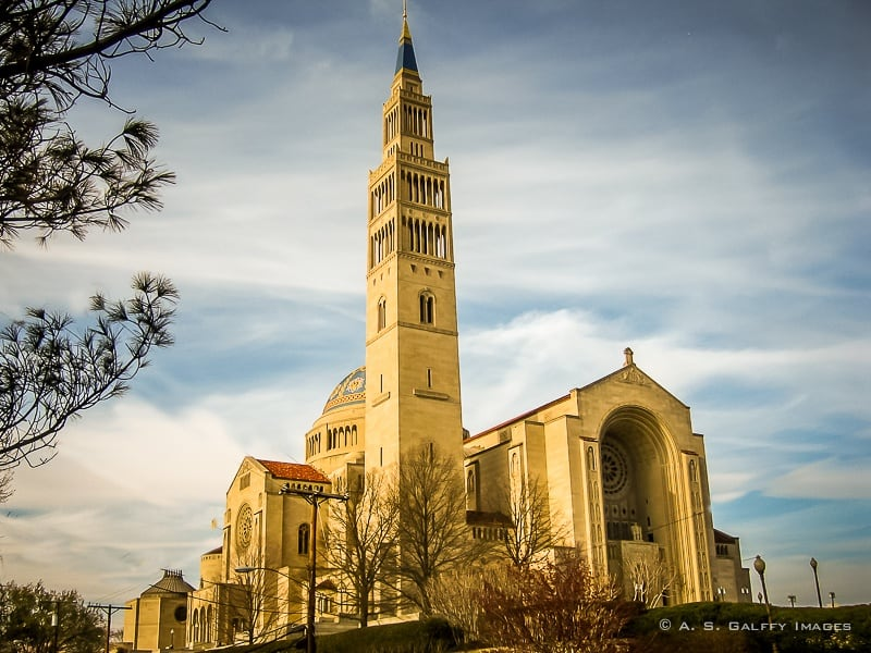 A Visit to the Basilica of the National Shrine in Washington D.C.