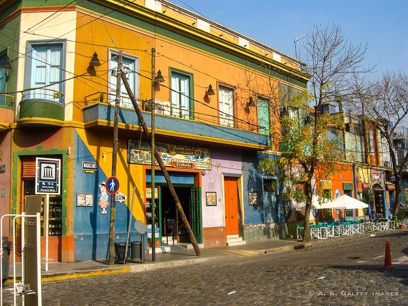 The Weekly Postcard: Caminito, La Boca