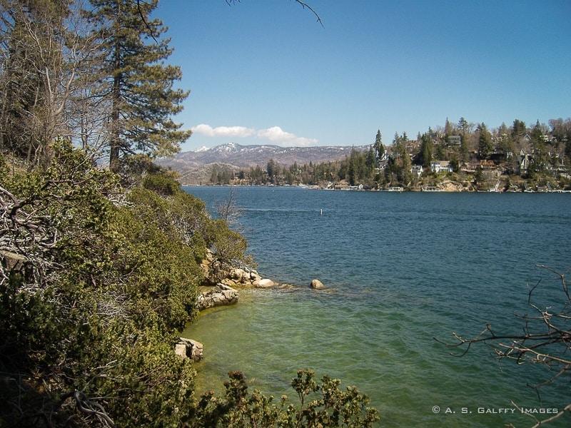 Lake Arrowhead, one of the best weekend getaways from Los Angeles