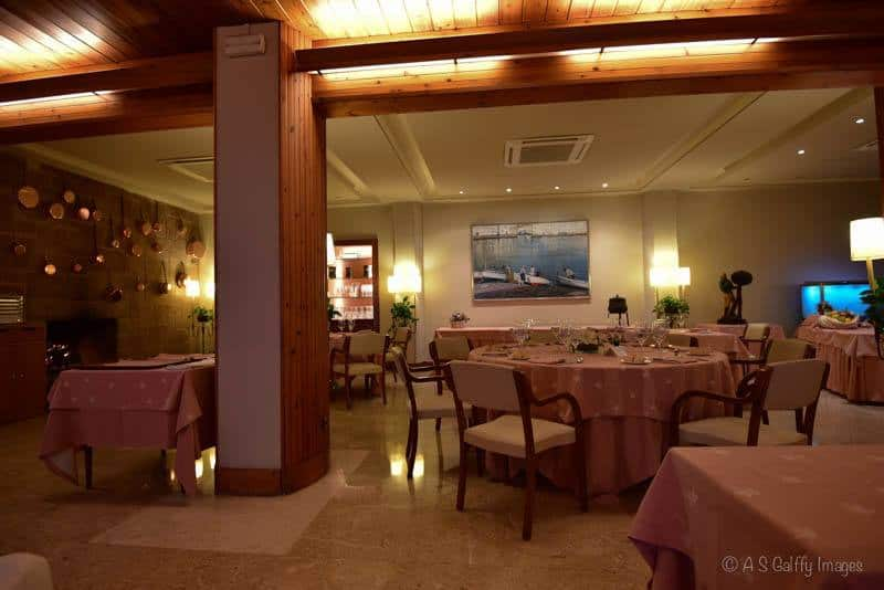 Image of the dining room of Hotel Santa Marta in Lloret del Mar