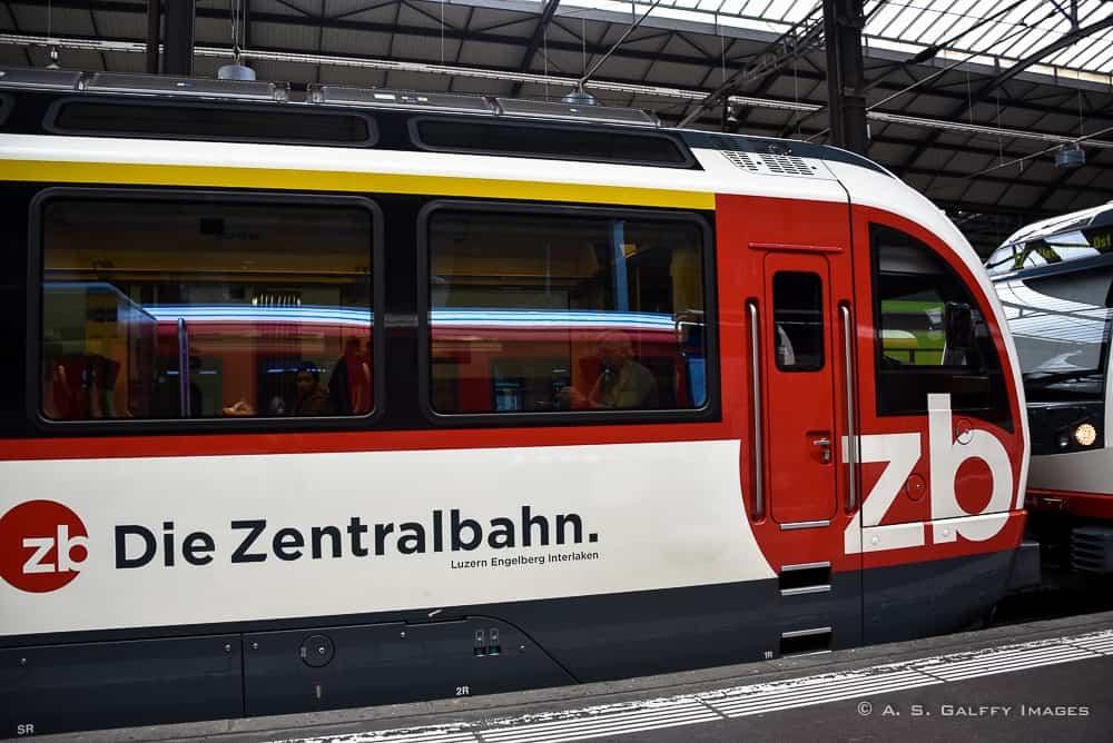 Riding a Swiss Scenic Train: Lucerne to Interlaken via the Golden Pass Line