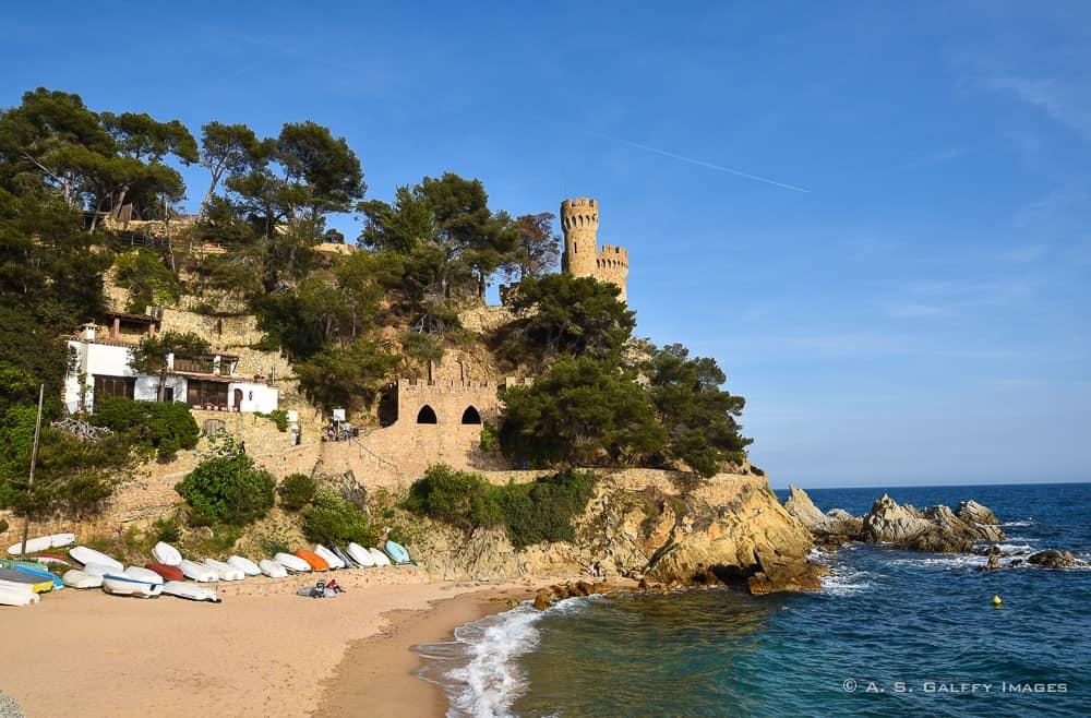Lloret castle