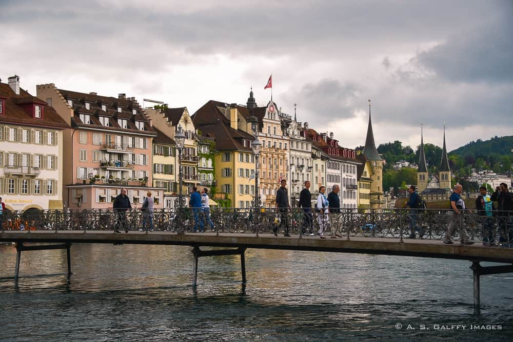 Lake Bridge - one day in Lucerne