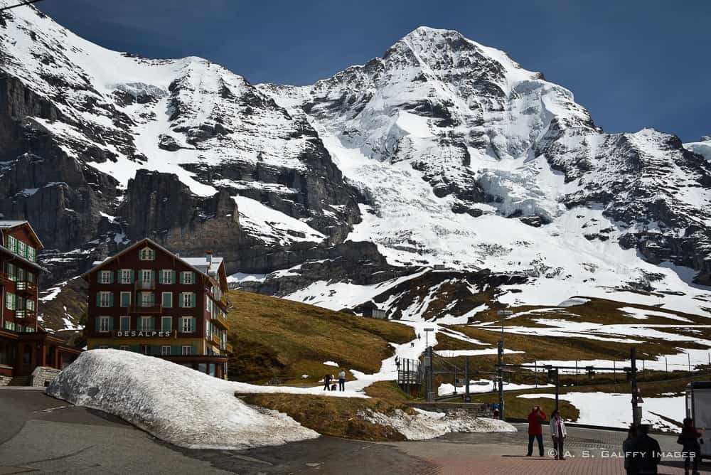 View from Kleine Scheidegg train station