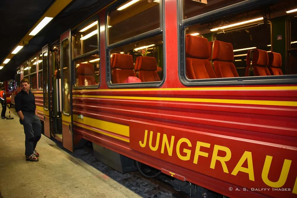 Cogwheel train to Jungfraujoch-Top of Europe