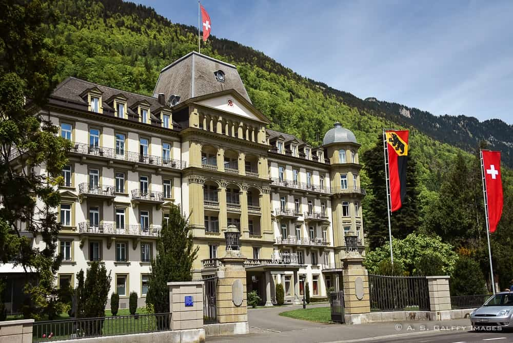 Class and Elegance at Lindner Grand Beau Rivage Hotel in Interlaken