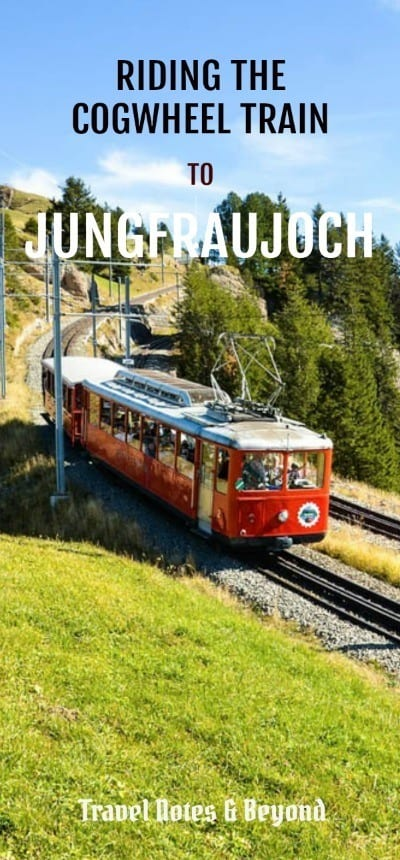cogwheel train to Jungfraujoch