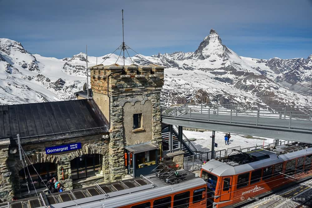 Gornergrat train station