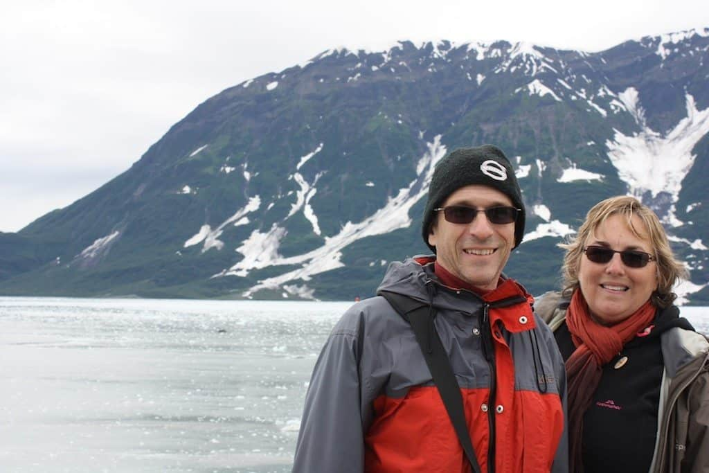 Rhonda and Jeff Albom in Alaska