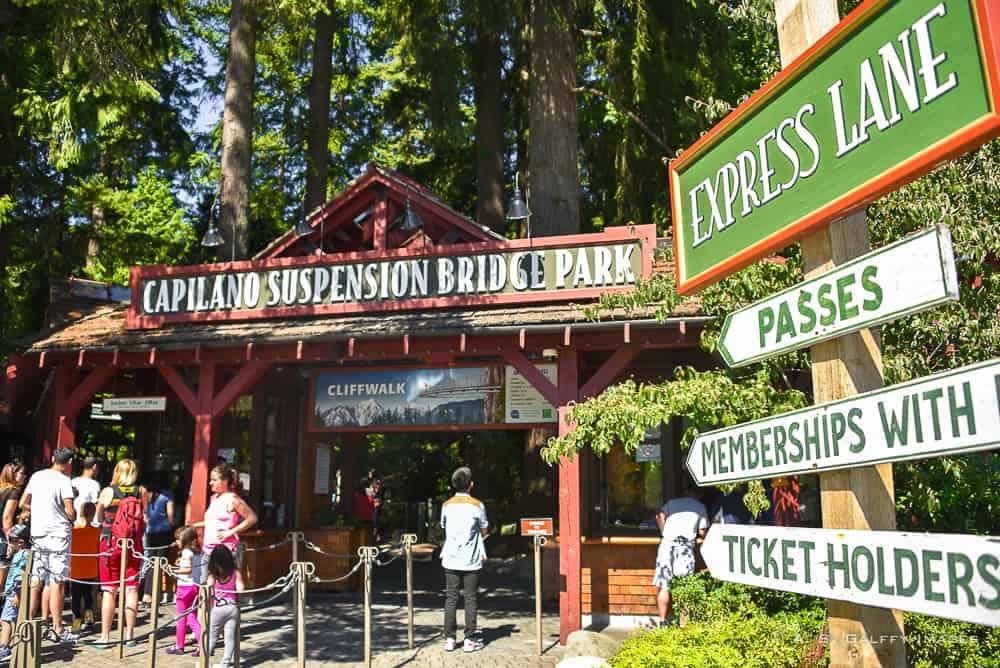 Capilano Park Entrance
