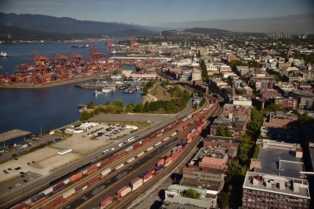 Vancouver port area