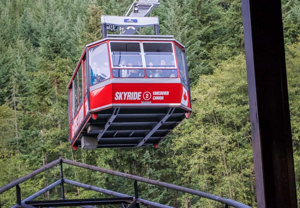Skyride Gondola to the Grouse Mountain