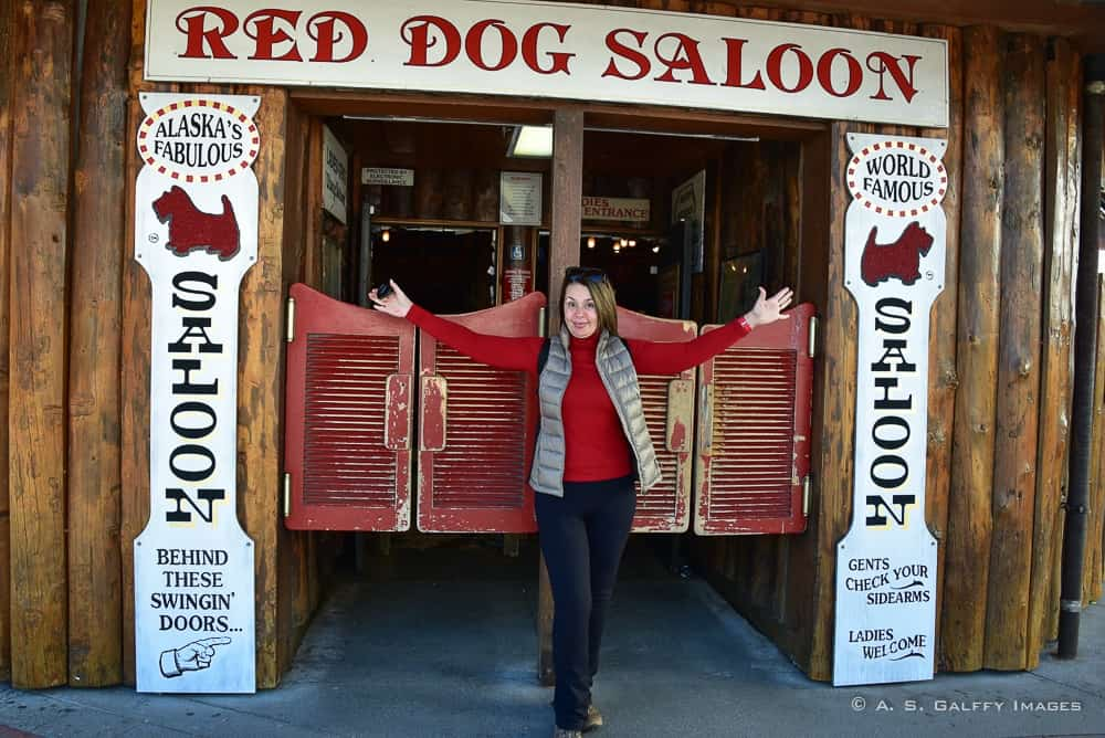 The Red Dog Saloon in Juneau
