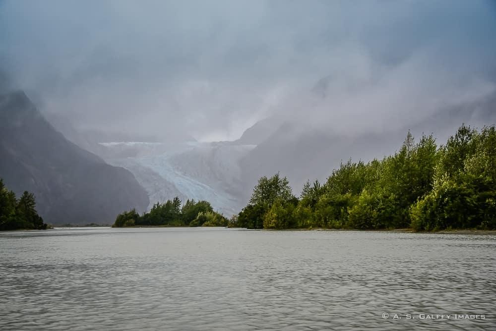 View of Davidson Glacier
