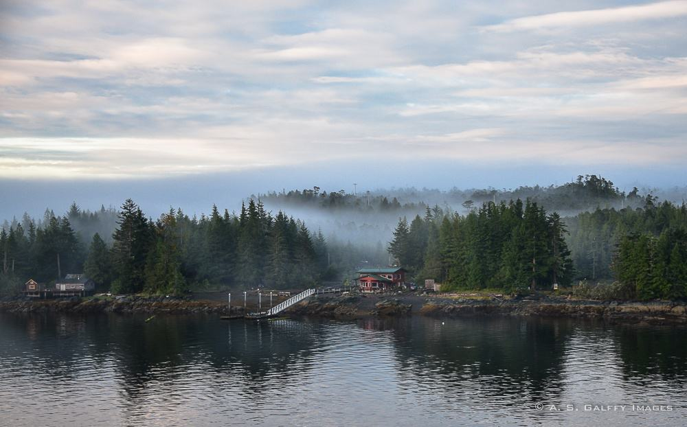 View of the village –Things to do in Ketchikan