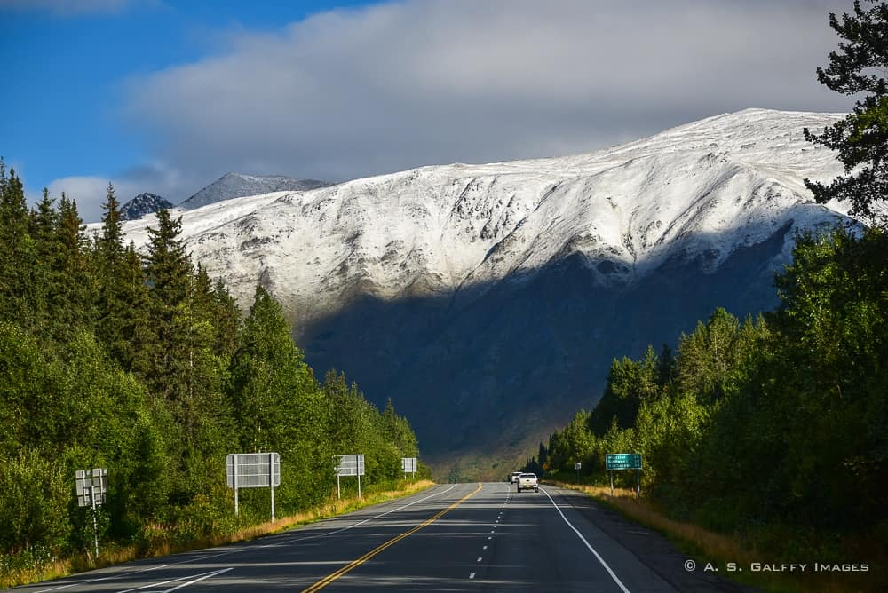 Image result for alaskan road scene