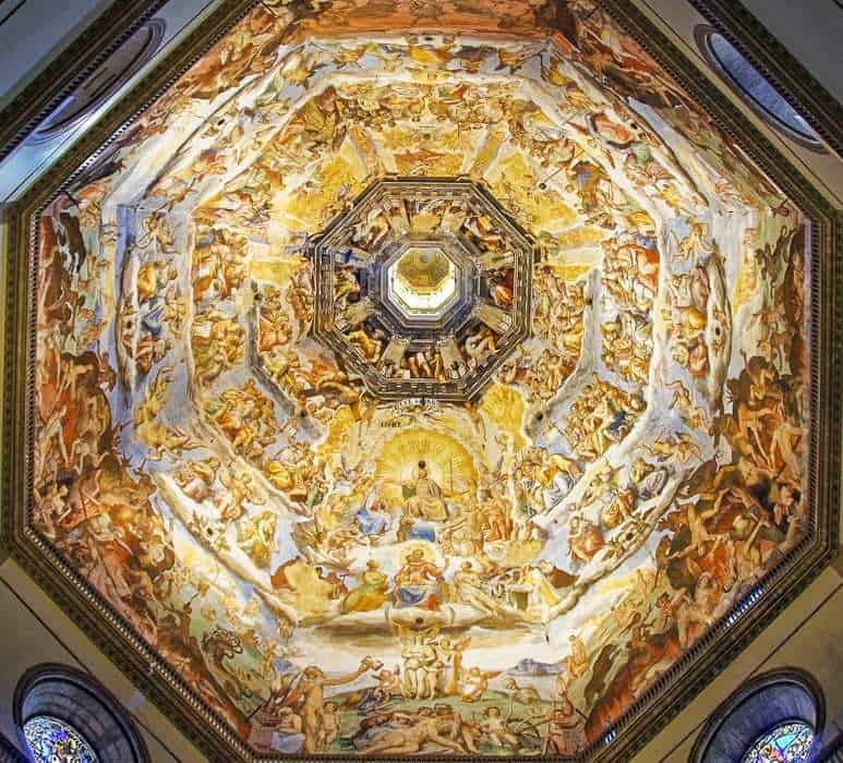 Ceiling of the Florence Cathedral Dome