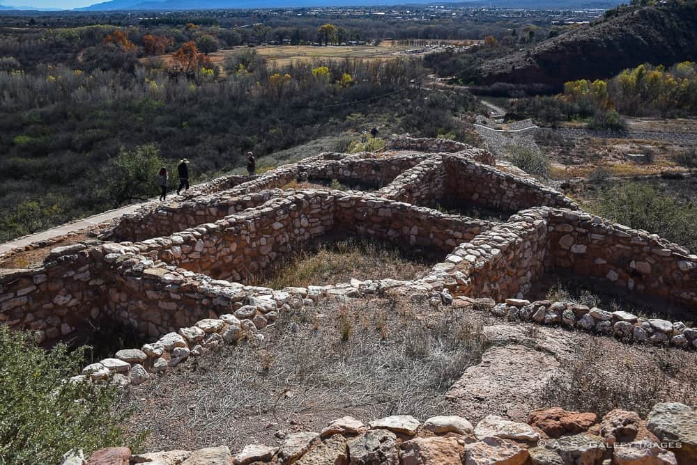 Indian ruins at Tuzigoot