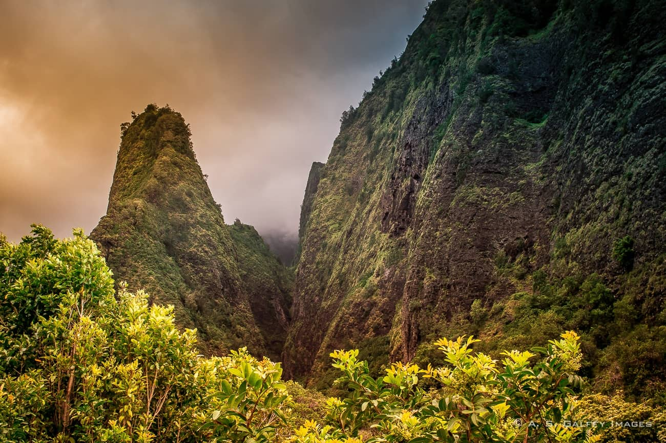Yao Valley State Park in Maui