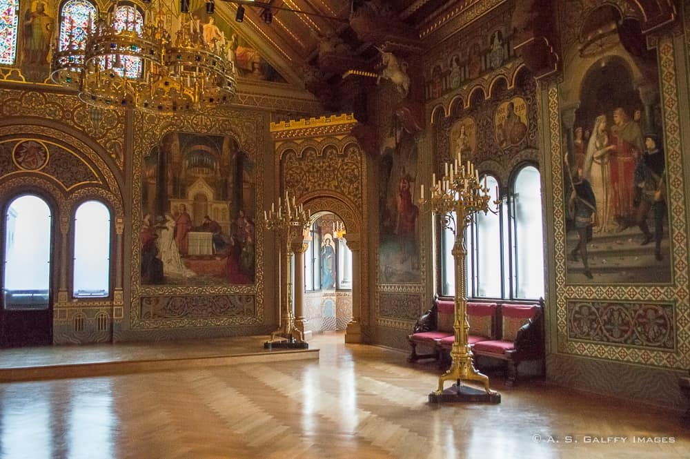 The Hall of Majesty at Neuschwanstein